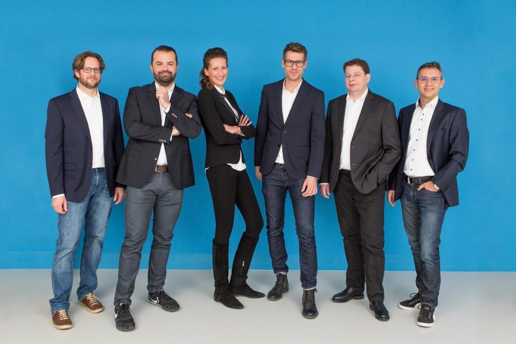 Growth Ninjas Team: Scharler, Greunz, Steindl, Sporrer, Eichmeyer, Kainz