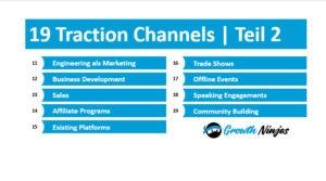 19 Traction Channels Ninjas Teil 2