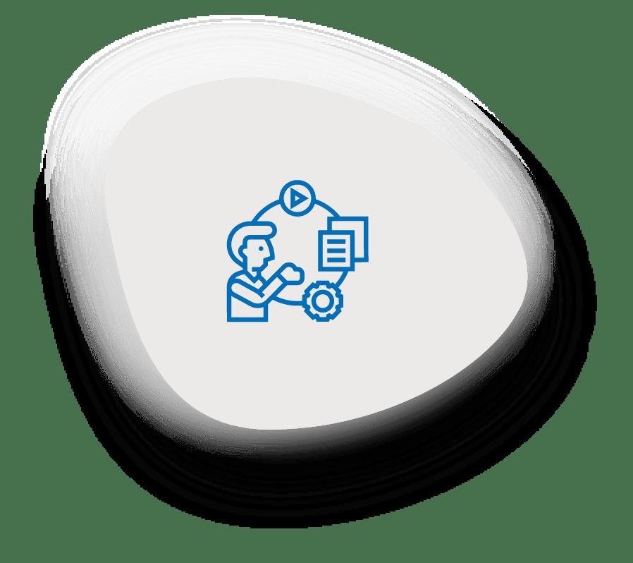 Icon Schwerpunkt Operatives Management
